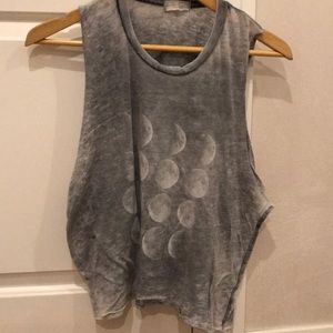 Brandy Melville Moon muscle tee
